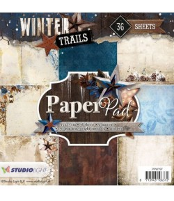 BLOC 15x15  WINTER TRAILS - PPWT97