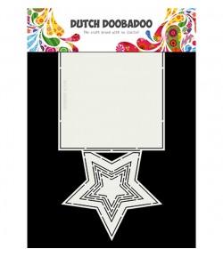 GABARIT ETOILE CARTE - DUTCH DOOBADOO (697)
