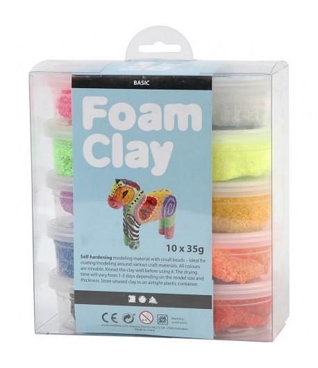 PATE A MODELER FOAM CLAY X 10 - 35 G