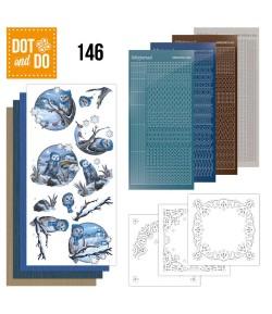 KIT 3D DOT HIVER ET CHOUETTES - 146
