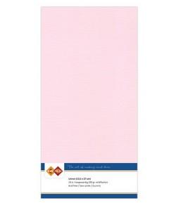 10 FEUILLES 13.5 X 27 CM 240GR - ROSE CLAIR