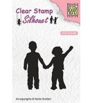 TAMPON SILHOUETTES ENFANTS - SIL051