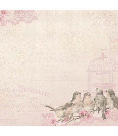 PAPIER BB MADELEINE SONGBIRDS