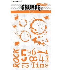 POCHOIR GRUNGE - MASKSL11