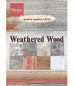 BLOC PAPIER WEATHERED WOOD - MARIANNE DESIGN
