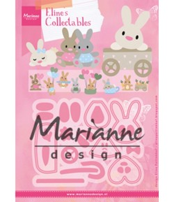 DIES COLLECTABLES LAPIN - COL1463
