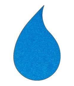 POUDRE A EMBOSSER METALLINE DARK BLUE - WG02R