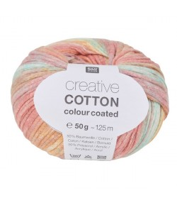 LAINE CREATIVE COTTON COLOUR COATED MIX PASTEL (003)