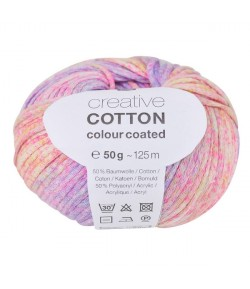 LAINE CREATIVE COTTON COLOUR COATED LILAS MIX (002)
