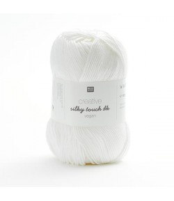 LAINE SILKY TOUCH BLANC (001)