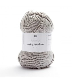 LAINE SILKY TOUCH GRIS ARGENT (008)