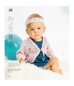LIVRE TRICOT RICO BABY COTTON SOFT N°021