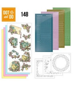 KIT 3D DOT SPRING BIRDHOUSE - DODO148