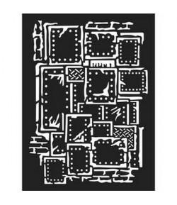 POCHOIR 15X20 EP 0.5 STEAMPUNK KSAT03