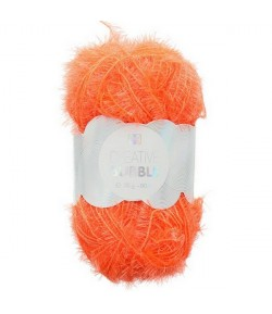 LAINE CREATIVE BUBBLE ORANGE FLUO