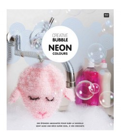 LIVRET NEON COLOURS CREATIVE BUBBLE
