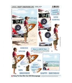FEUILLE 3D SURFEUR DCD649