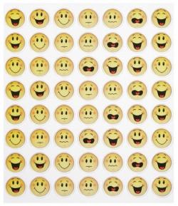 AUTOCOLLANTS SMILEY X 56