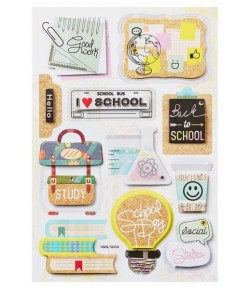 STICKERS 3D SAVE ECOLE