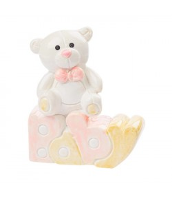 OURSON BABY ROSE 5 CM