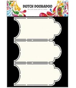 GABARIT 3 CARD - DUTCH DOOBADOO (653)