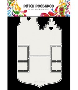 GABARIT HOUSE CARD - DUTCH DOOBADOO (701)