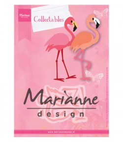 DIES COLLECTABLES FLAMANTS ROSES  - COL1456