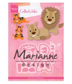 DIES COLLECTABLES LION ET TIGRE - COL1455
