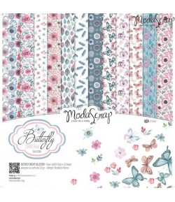 BLOC 12 FEUILLES BUTTERFLY DREAM MS 30.5X30.5CM