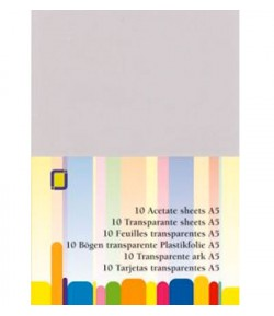 10 FEUILLES DE RHODOID - A5