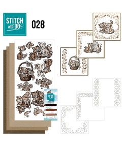 KIT 3D A BRODER CHAT - 028