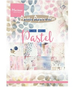 BLOC A5 MIXED MEDIA PASTEL  - MARIANNE DESIGN - PK9141
