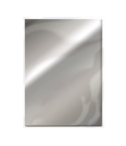 5 CARTONS MIROIR SATIN A4 - CHROME SILVER - TONIC STUDIOS