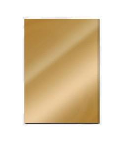 5 CARTONS MIROIR A4 SATIN - HARVEST GOLD - TONIC STUDIOS
