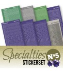 LOT 8 STICKERS SPECIALTIES - N°5