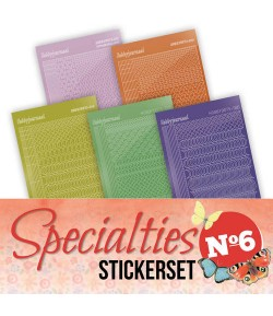 LOT 8 STICKERS SPECIALTIES - N°6
