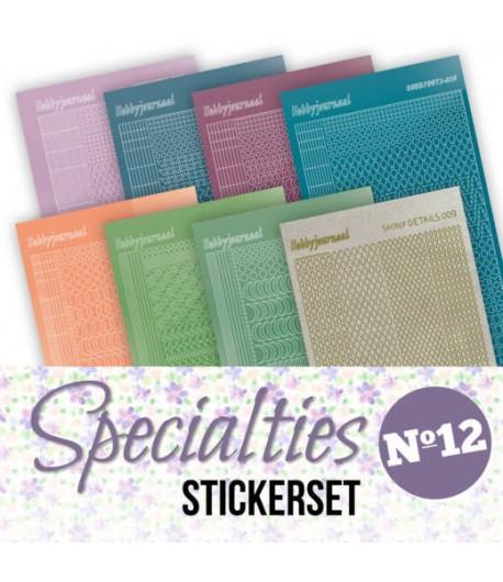 LOT 8 STICKERS SPECIALTIES - N°12