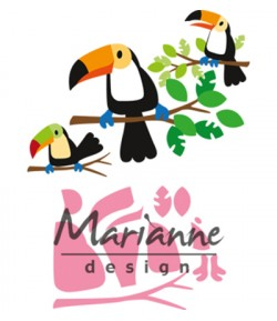 DIES COLLECTABLES TOUCAN  - COL1457