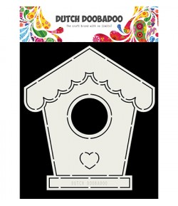 GABARIT BIRDHOUSE CARD - DUTCH DOOBADOO (710)