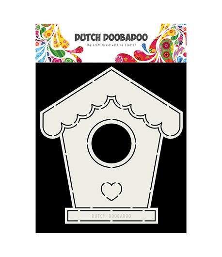 GABARIT BIRDHOUSE CARD - DUTCH DOOBADOO (710)