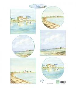 FEUILLE BORD DE MER - IT610 - MARIANNE DESIGN