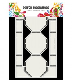 GABARIT OCTOGONE CARD - DUTCH DOOBADOO