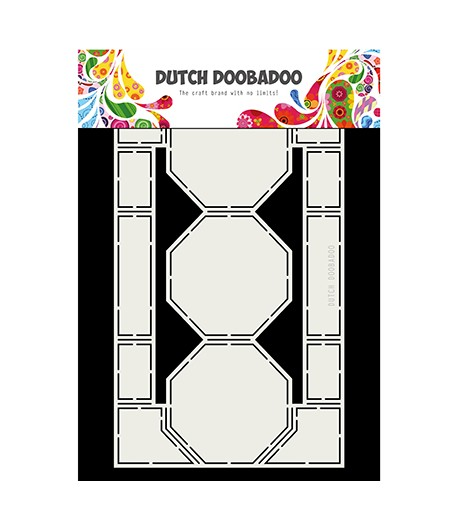 GABARIT OCTOGONE CARD - DUTCH DOOBADOO