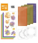 KIT 3D DOT AND DO FLEURS  ET PAPILLONS  - 155