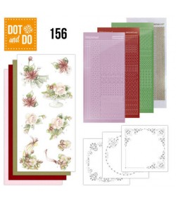 KIT 3D DOT AND DO FLEURS - 156