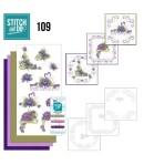 KIT 3D A BRODER  FLEURS - 109 - STITCH AND DO