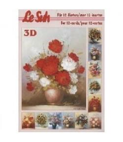 LIVRET 3D FLEURS A5 345633