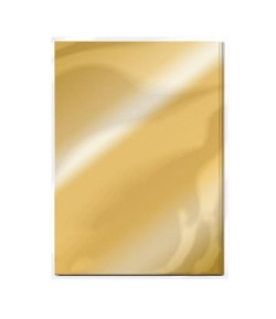 5 CARTONS MIROIR A4 - POLISHED GOLD - TONIC STUDIOS