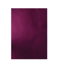 5 CARTONS MIROIR HIGH GLOSS A4 - MIDNIGHT PLUM - TONIC STUDIOS