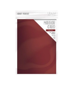 5 CARTONS MIROIR HIGH GLOSS A4 - RUSTY DUSK - TONIC STUDIOS